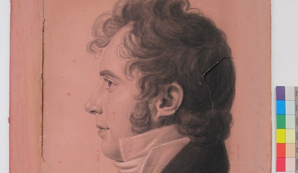 Portrait of Allan Pollok c1780